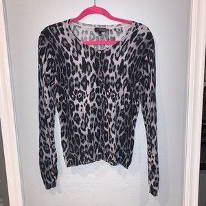 The Limited Leopard Cardigan